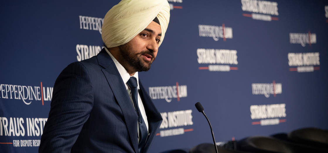 Professor Singh speaks at Pepperdine Caruso School of Law Programs