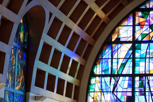 Stauffer Chapel at Pepperdine University in Malibu