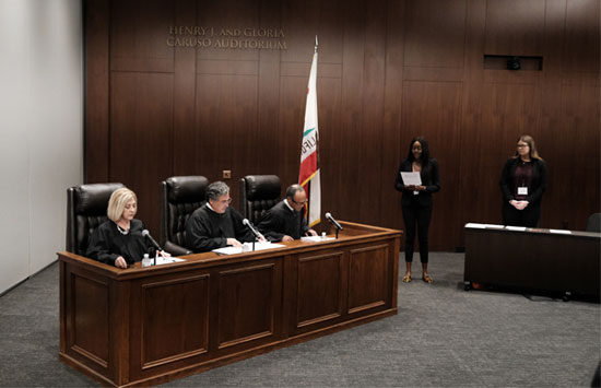 Experiential Learning at the Pepperdine Caruso Law Dalsimer Moot Court event