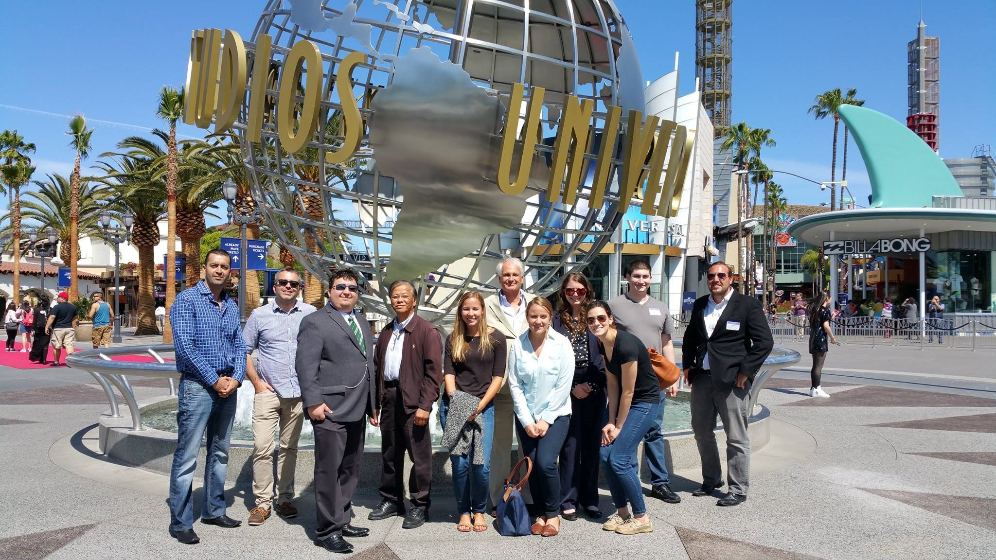 Pepperdine Law students at NBC Universal