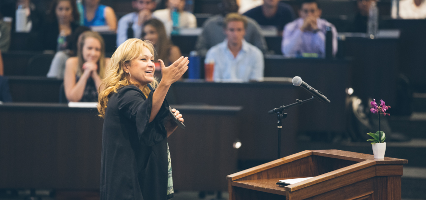 Attorney leads discussion at Pepperdine School of Law