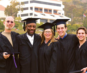 LLM Graduates at Pepperdine School of Law