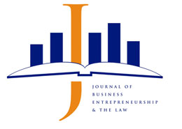 Journal of Business Entrepreneurship & the Law logo