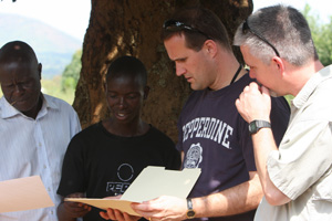 Jim Gash Reviewing Case - Uganda