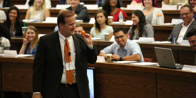 Jim Gash in Classroom, Pepperdine School of Law