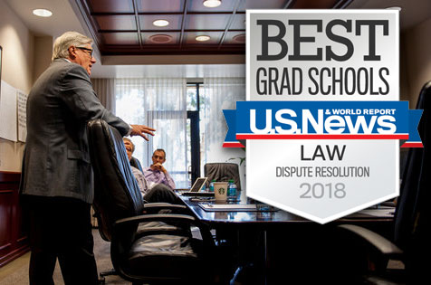 Best Grad Schools - U.S. News & World Report for Law Dispute Resolution 2018