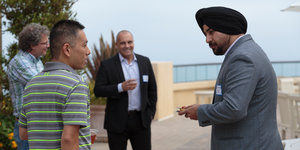 Sukhsimranjit Singh at Straus Institute event - Pepperdine Law