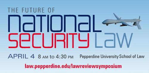 The Future of National Security Law