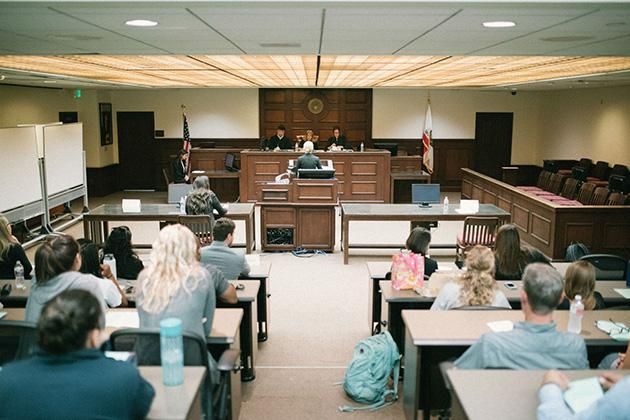 courtroom classroom