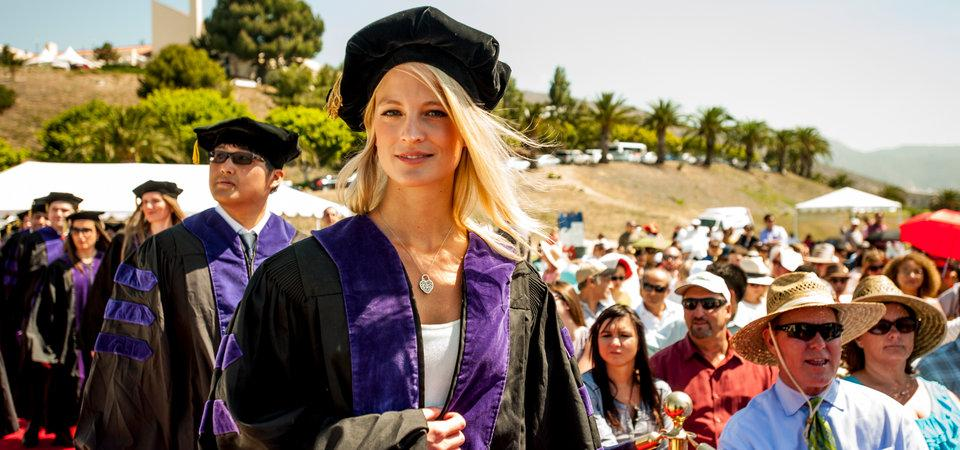 Pepperdine Law Graduation Ceremony