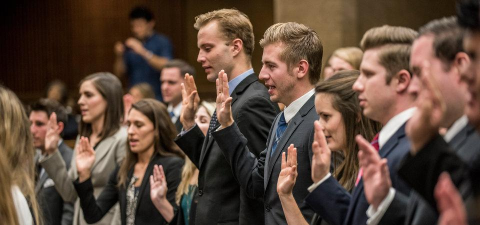 California State Bar swearing in ceremony at Pepperdine Law School