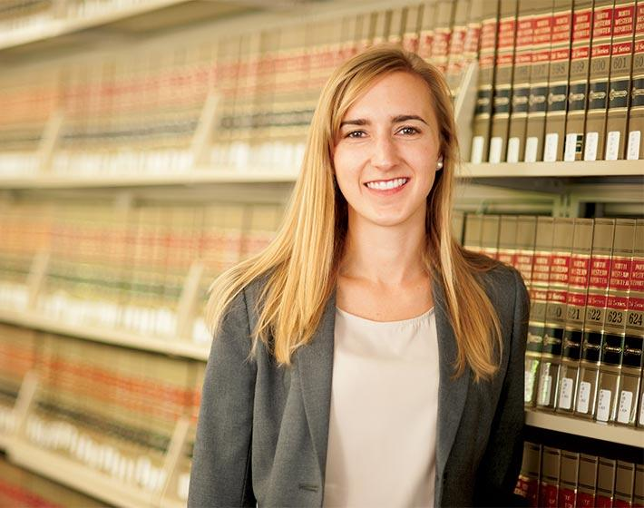Ashley Cook, Pepperdine Law Alumni testimonial quote.