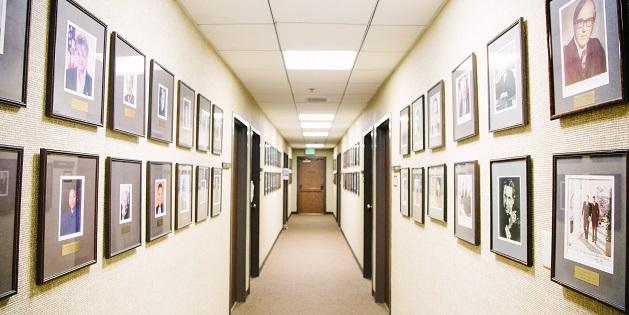 School of Law Hallway