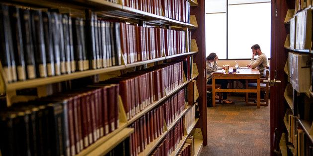 Inside the Harnish Law Library