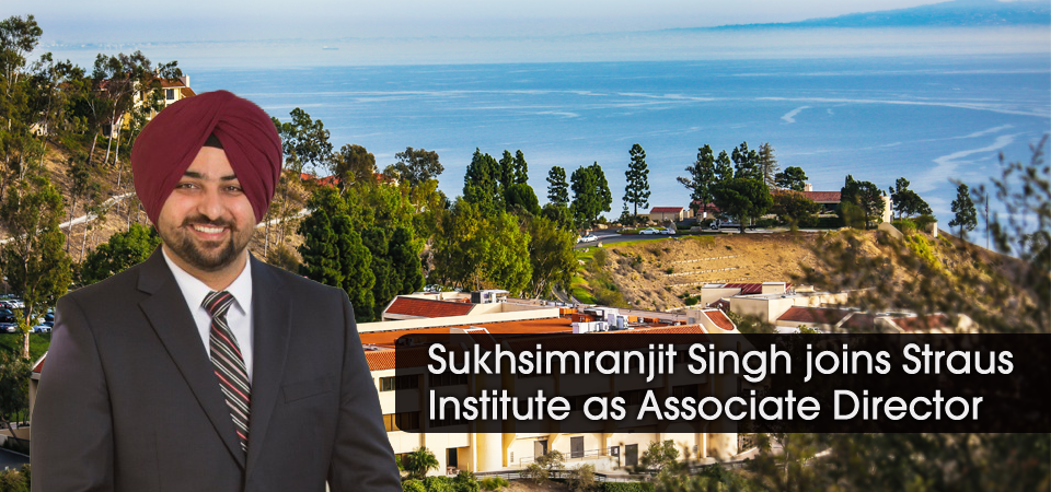 Sukhsimranjit Singh joins Straus Institute as Associate Director