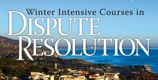 Winter Intensive Courses in Dispute Resolution