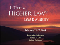Higher Law Conference