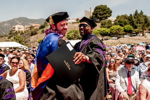 LLM graduates at Pepperdine Law