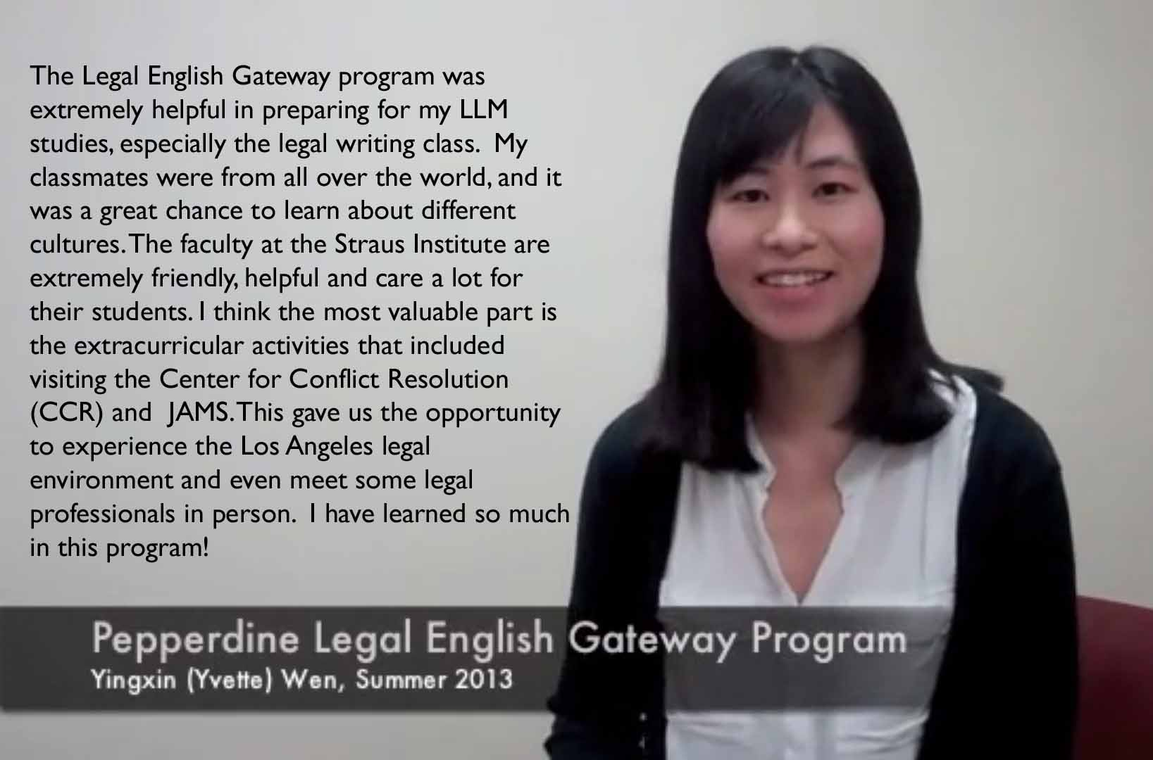 Legal English Gateway Quote