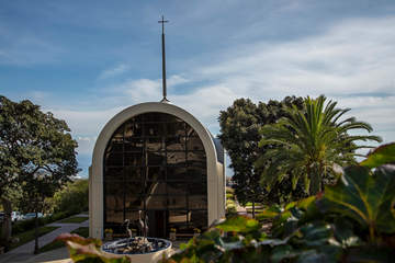 The Stauffer Chapel at Pepperdine University