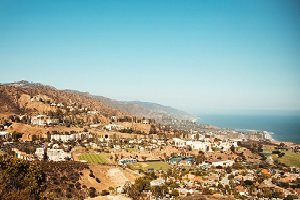 pepperdine university campus panoramic overlooking ocean