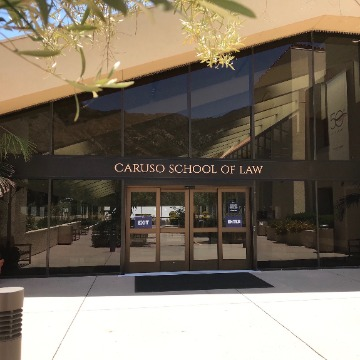 Caruso Law entrance