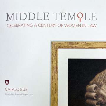middle temple catalogue cover