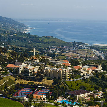 Pepperdine aerial photo