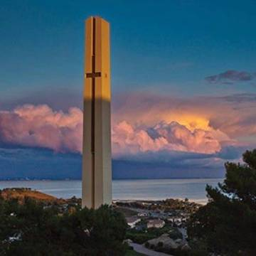Pepperdine theme tower photo